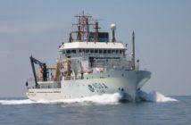 The NOAA research vessel Henry B. Bigelow. NOAA photo.