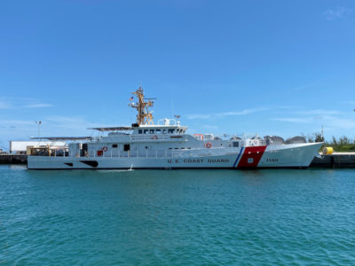 Bollinger delivers second of three FRCs to be homeported in Guam