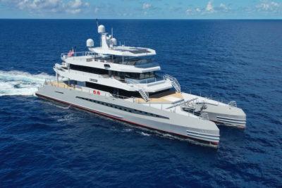 Metal Shark debuts 48-meter catamaran expedition yacht