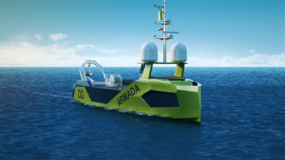 Volvo Penta helps power commercial autonomous exploration vessels