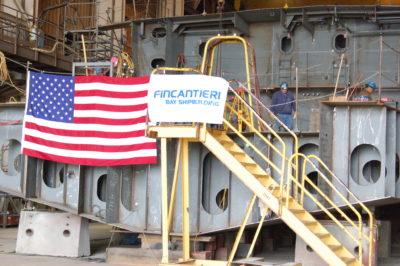 Senator reintroduces legislation to support U.S. shipbuilders