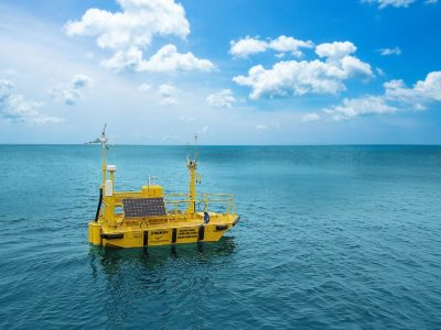 First offshore wind research buoys deployed off West Coast
