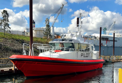 Vigor delivers two new pilot boats to Los Angeles