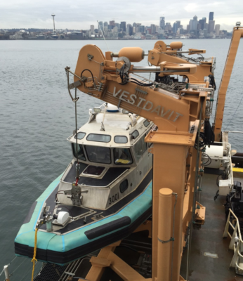 Vestdavit wins long-term service agreement with NOAA