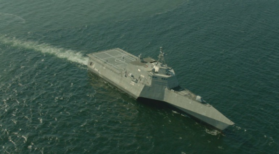 Austal USA holds keel laying ceremony for LCS 32