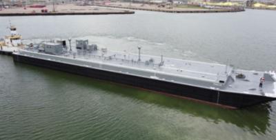 Southwest Shipyard delivers Shearer Group-designed 23K barrel tank barge