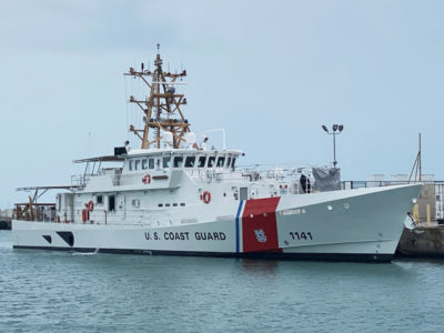 Bollinger delivers 41st fast response cutter to USCG
