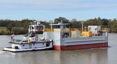 Bollinger Shipyards delivers new Louisiana flood gate
