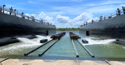Vessel Repair puts new drydock and transfer system into operation